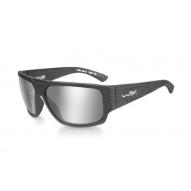 Okulary Wiley X VALLUS Grey Silver Flash Matte Graphite Frame (ACVLS01)