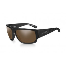 Okulary Wiley X VALLUS Polarized Amber Matte Black Frame (ACVLS04)