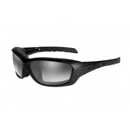 Okulary Wiley X GRAVITY Light Adjusting Grey Matte Black Frame (CCGRA05)