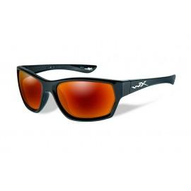 Okulary Wiley X MOXY Polarized Crimson Mirror Gloss Black Frame (SSMOX05)
