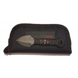 Nóż Bastinelli Creations ARROWTAC custom Tsukamai Wrap GD Skulls