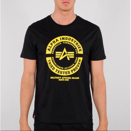 Koszulka Alpha Industries TTP T black (128501)