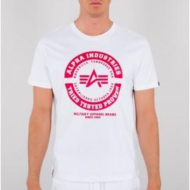 Koszulka Alpha Industries TTP T white (128501)
