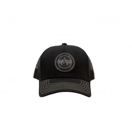 Czapka z daszkiem Alpha Industries Trucker Patch Cap black (186902)