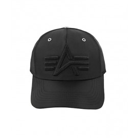 Czapka z daszkiem Alpha Industries Flight Cap black (196917)