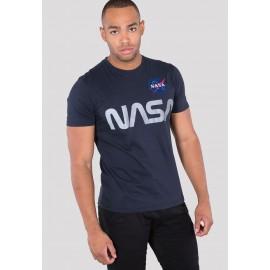 Koszulka Alpha Industries NASA Reflective T repl.blue (178501)