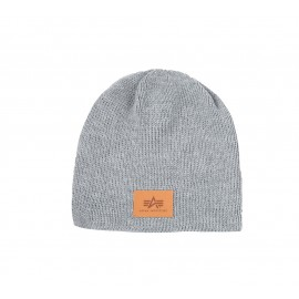 Czapka Alpha Industries Knit Beanie Grey Heather (198909-17)