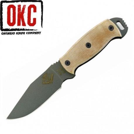 Nóż Ontario Ranger RD 4 Tan Micarta 9415TM