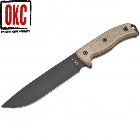Nóż Ontario Rat 7 Plain 8604