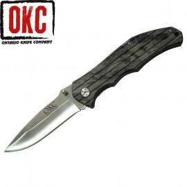Nóż ONTARIO 8799 GREEN CAMO