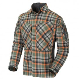 Koszula Helikon MBDU Flannel Timber Olive Plaid (KO-MBD-PO-PF)