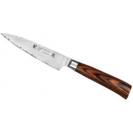Nóż Tamahagane Tsubame Brown Pakka uniwersalny 12 cm (SNH-1108)