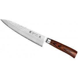 Nóż Tamahagane Tsubame Brown Szefa Kuchni 21 cm (SNH-1105)