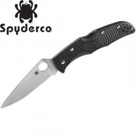 Nóż Spyderco Endura Flat Ground PLN Black