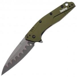 Nóż Kershaw Dividend 1812OLCB Composite Blade Olive (CPM D2, N690)