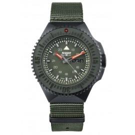 Zegarek Traser P69 Black Stealth - Green - NATO (109858)