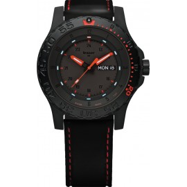 Zegarek Traser P66 Red Combat - leather/red (105503)