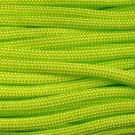 Paracord 550 kolor Fluor Green