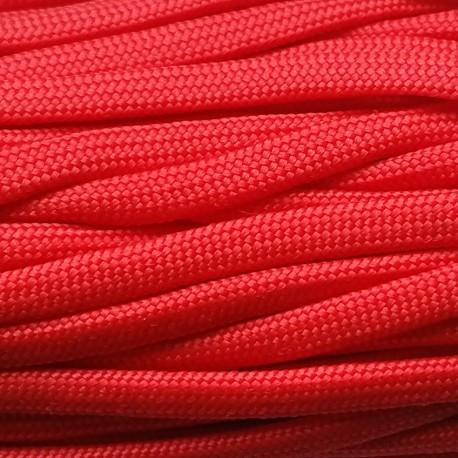 Paracord 550 kolor Czerwony