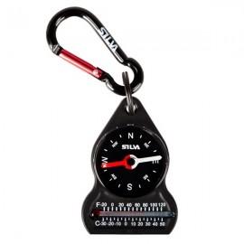 Kompas Silva z termometrem i karabińczykiem