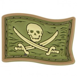 Naszywka Maxpedition Jolly Roger mini wer. ARID