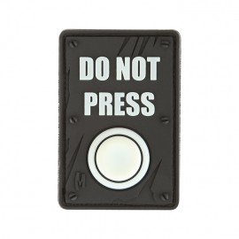 "Naszywka Maxpedition ""DO NOT PRESS"" wer. GLOW"