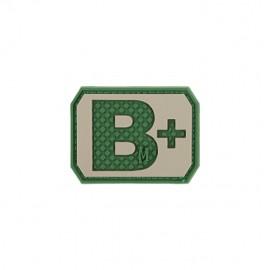 Naszywka Maxpedition Grupa Krwi B+