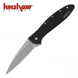 Nóż Kershaw Leek Black Stone Wash 1660 SWBLK