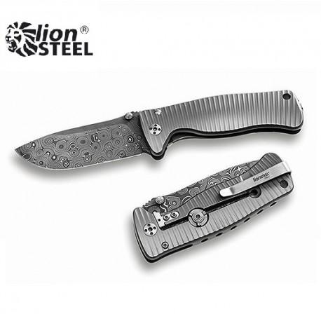 Nóż Lion Steel SR-2 DR DAMASCUS