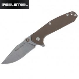 Nóż Real Steel H5 Gerfalcon Brown