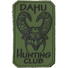 Naszywka Bastinelli Creation PVC DAHU HUNTING CLUB