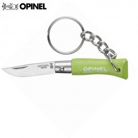 Nóż Opinel INOX Brelok 2 Apple Green