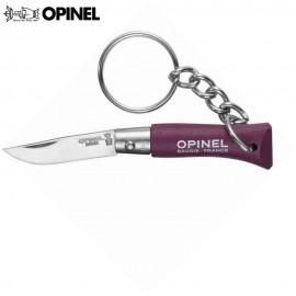Nóż Opinel INOX Brelok 2 Plum