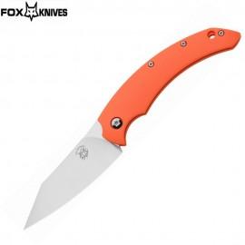 """Nóż Fox Cutlery Slim Dragotac """"Piemontes"""" Bastinelli Design FX-518 Orange"""