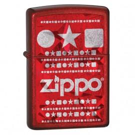Zapalniczka Zippo Enigma, Candy Apple Red