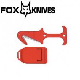 Nóż Fox Cutlery FKMD Emergency tool R.T. 2 Red FX-640/22 RD