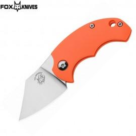 Nóż Fox Cutlery BB Drago Bastinelli Design FX-519 Orange