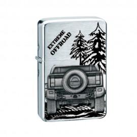 Zapalniczka benzynowa TASMAN Off Road I, emblemat