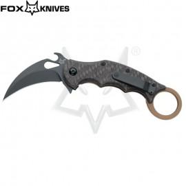 Nóż Fox Cutlery Karambit Titanium Frame Lock FX-599TiC