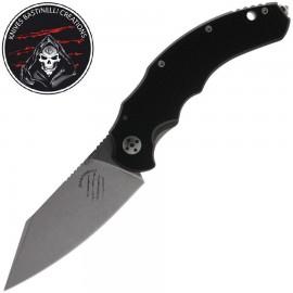 Nóż Bastinelli Creations Dragotac Compact V2 Stonewash