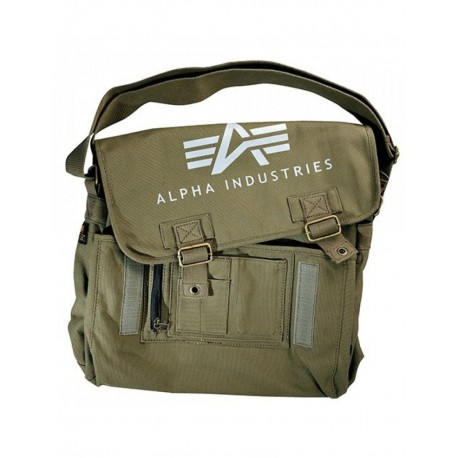 Torba na ramię Alpha Industries Big Canvas Utility Bag Olive
