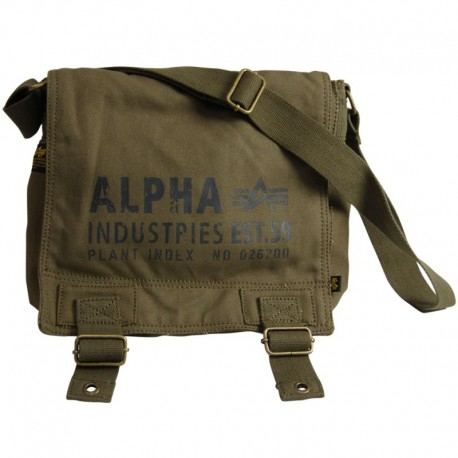 Torba na ramię Alpha Industries Cargo Canvas Utility Bag