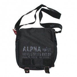 Torba na ramię Alpha Industries Cargo Oxford Utility Bag Black