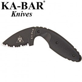 Nóż Ka-Bar 1481 - TDI Law Enforcement Knife - Serrated Edge
