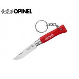 Nóż Opinel INOX Brelok 4 Czerwony
