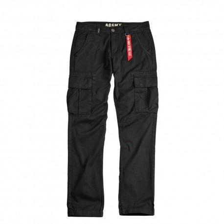 Spodnie Alpha Industries Agent 03 Czarne