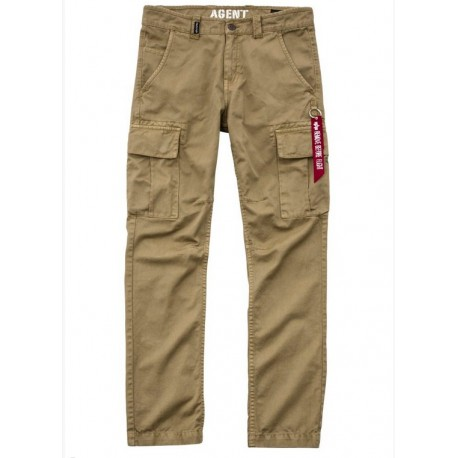 Spodnie Alpha Industries Agent 28 Caramel