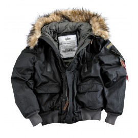 Kurtka Alpha Industries Mountain Jacket 03 Black