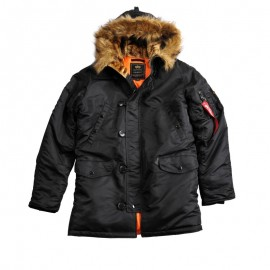 Kurtka Alpha Industries Alaska N3B Slim Black