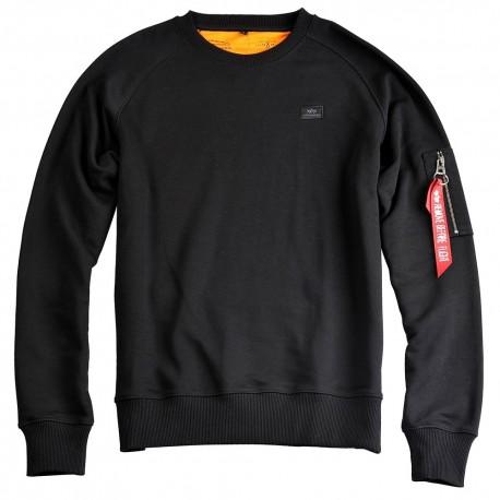 Bluza Alpha Industries X-Fit Sweat 03 Black